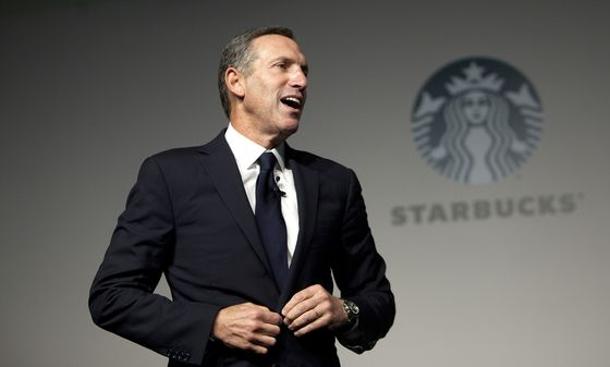 Starbucks' Schultz '100% Will Only Run IfHe Sees a Viable Path,' Adviser Says