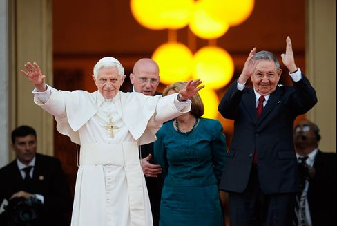 Pope Speaks for Dissidents in Prayers as Cuba Rejects Change