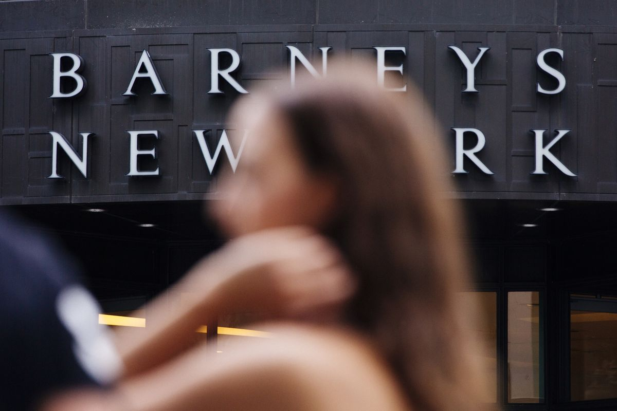 Barneys Taps Authentic for Lead Bidder, Rival Offer Expected