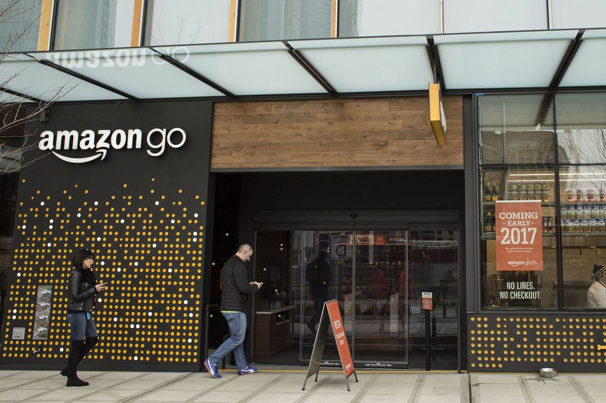 The New Amazon Go Grocery Store In Seattle Is Adjacent To Amazonu0027s  Headquarters.