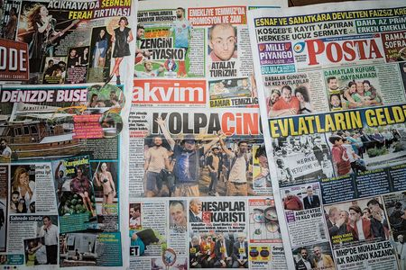 Most of Cumhuriyet's competition is controlled by companies with close ties to Erdogan's government.