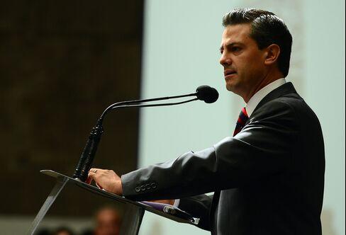 Mexican Presidential Front-Runner Enrique Pena Nieto