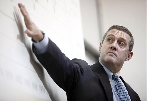 Feds Bullard Says Monetary Policy May Be at Turning Point