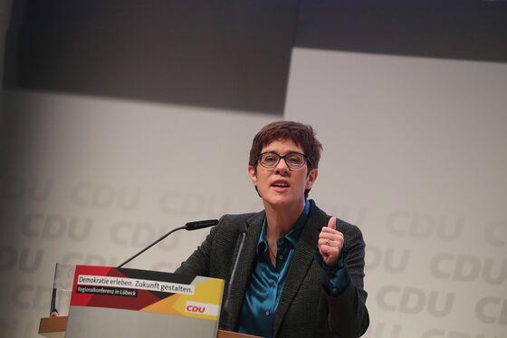 Merkel's Potential Heir Says He'll Regain Nationalist Voters