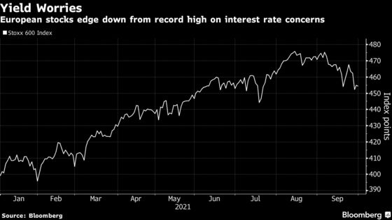 European Stocks Post Worst Monthly Decline in 11 on Yields Scare