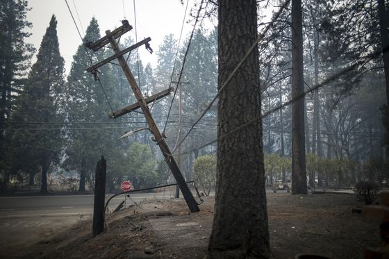 PG&E Regulator to Weigh Restructuring Utility After Deadly Fire
