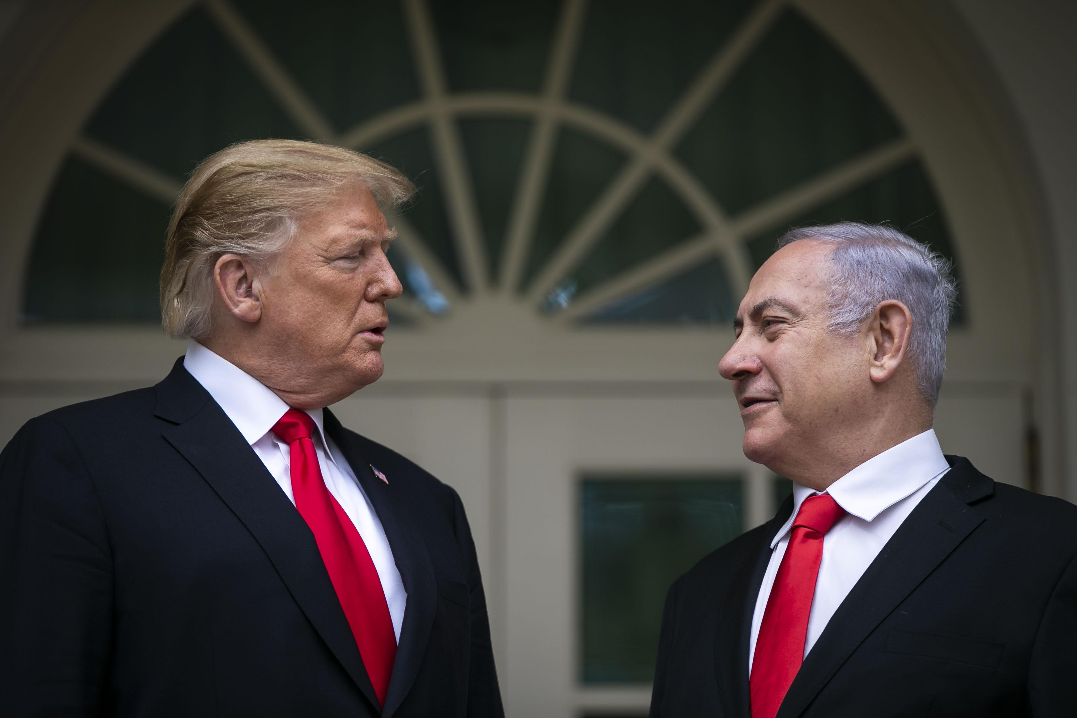 bloomberg.com - Alisa Odenheimer - Netanyahu Says Israel Will Name Community in Golan for Trump
