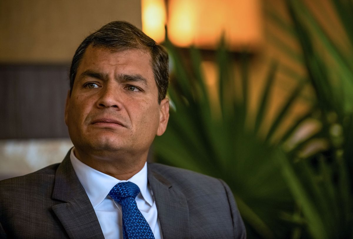 Ecuador Puts Ex-President on Trial for Campaign Finance Fraud