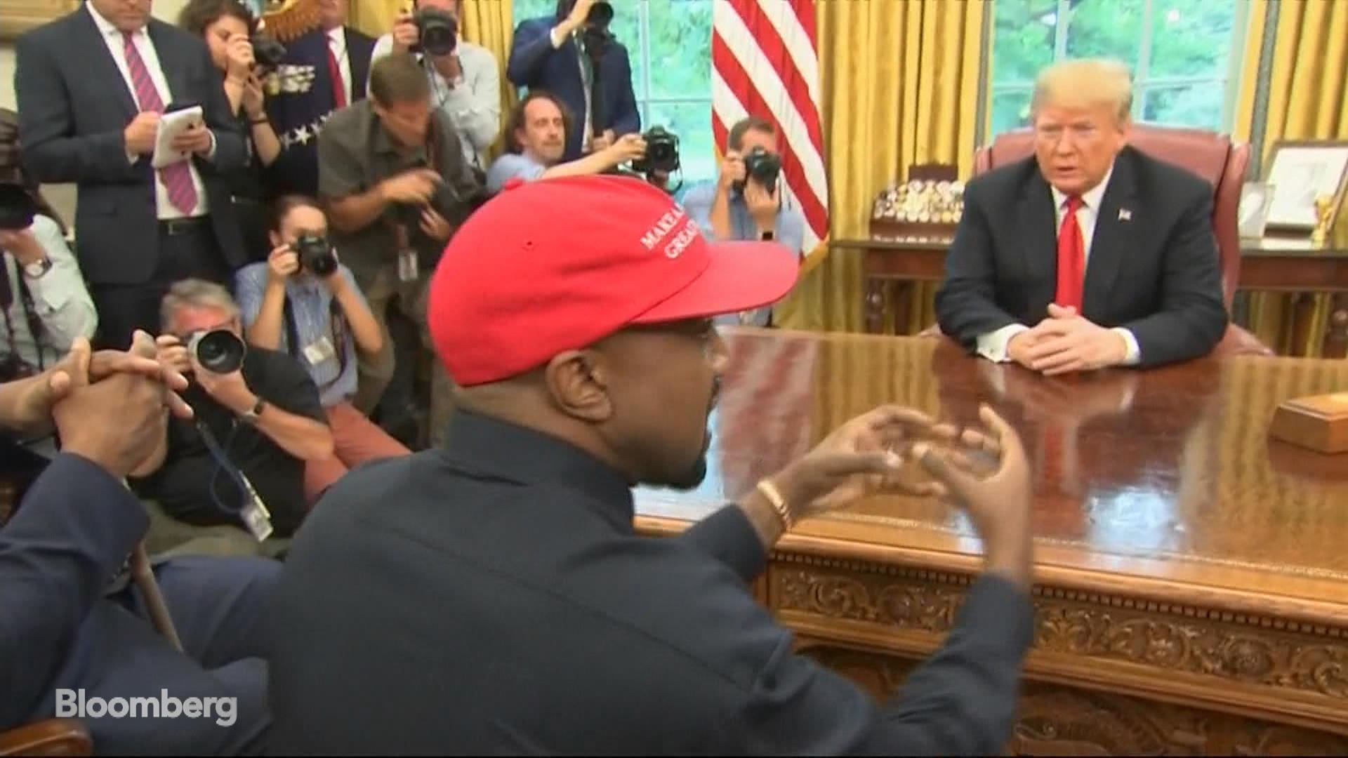 Kanye West Suggests Replacing Air Force One During Meeting With Trump
