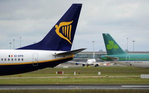 Ryanair Resumes Aer Lingus Pursuit With EU694 Million Offer