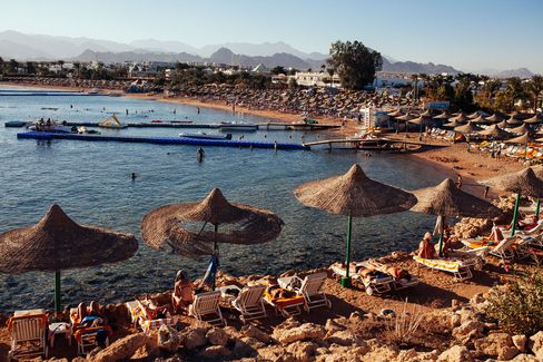 Tourism In Popular Egyptian Holiday Destination Sharm El Sheik