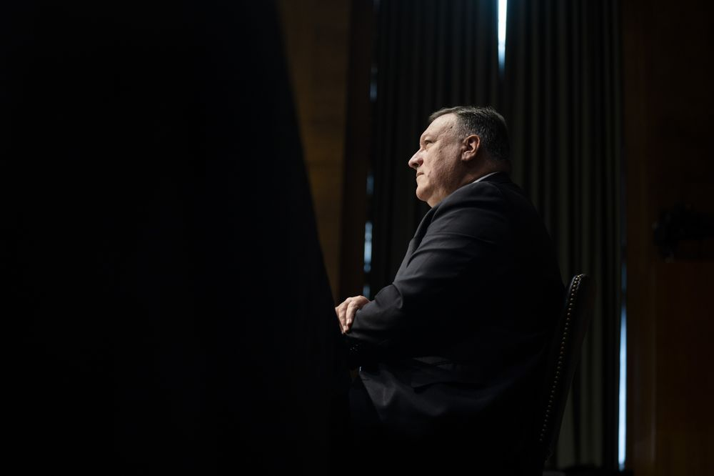 Secretary Of State Pompeo Testifies Before Senate Foreign Relations Committee