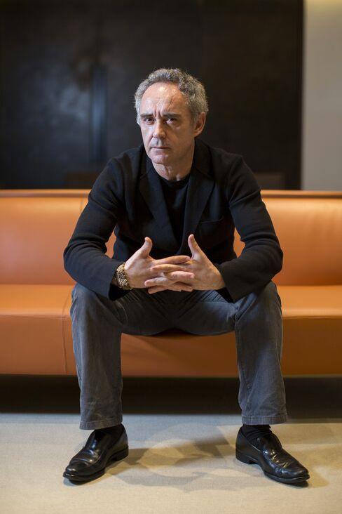 Chef of Former El Bulli Restaurant Ferran Adria