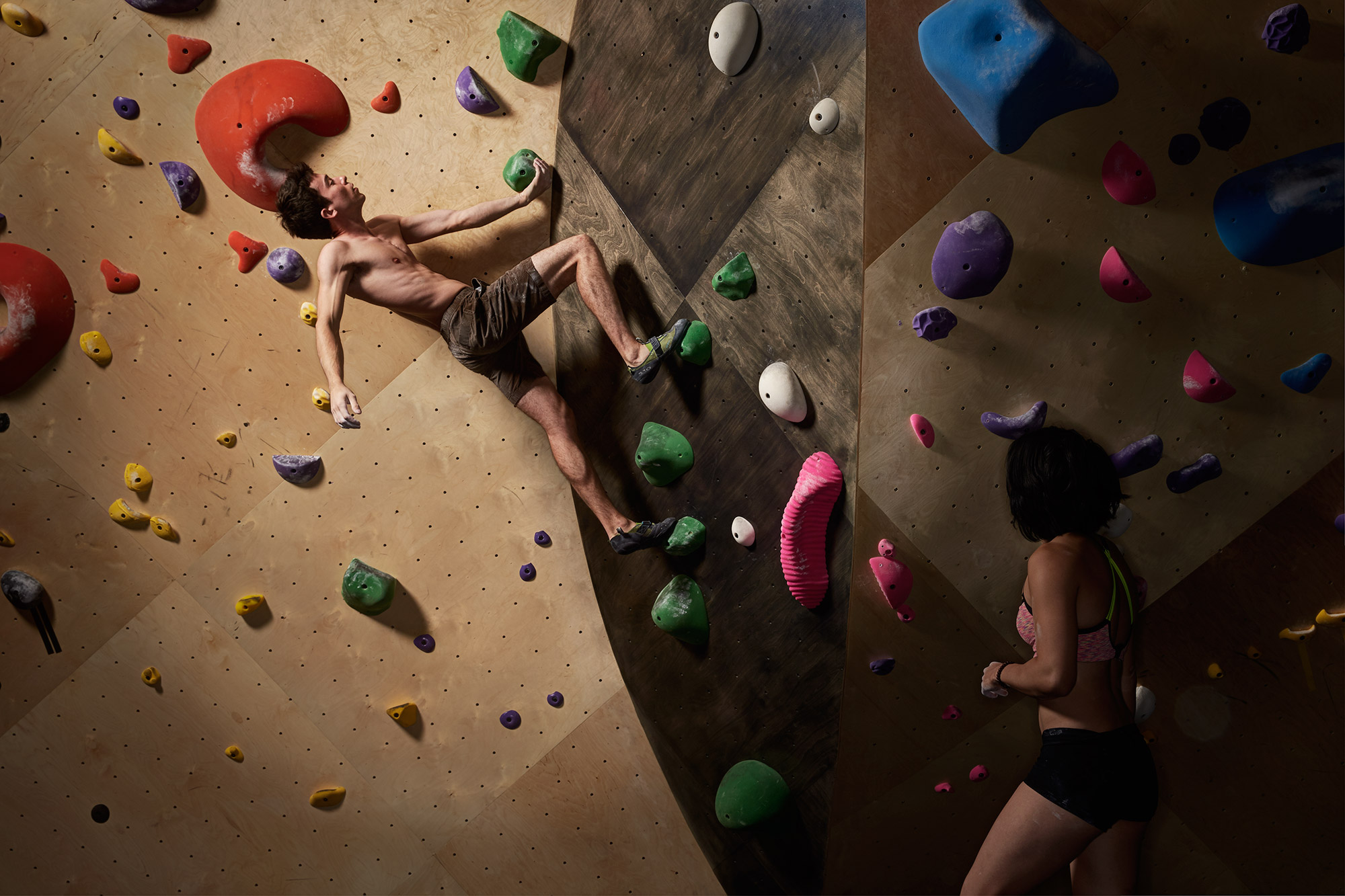 This Rock Climbing Gym Wants to Disrupt Your Work-Life Balance