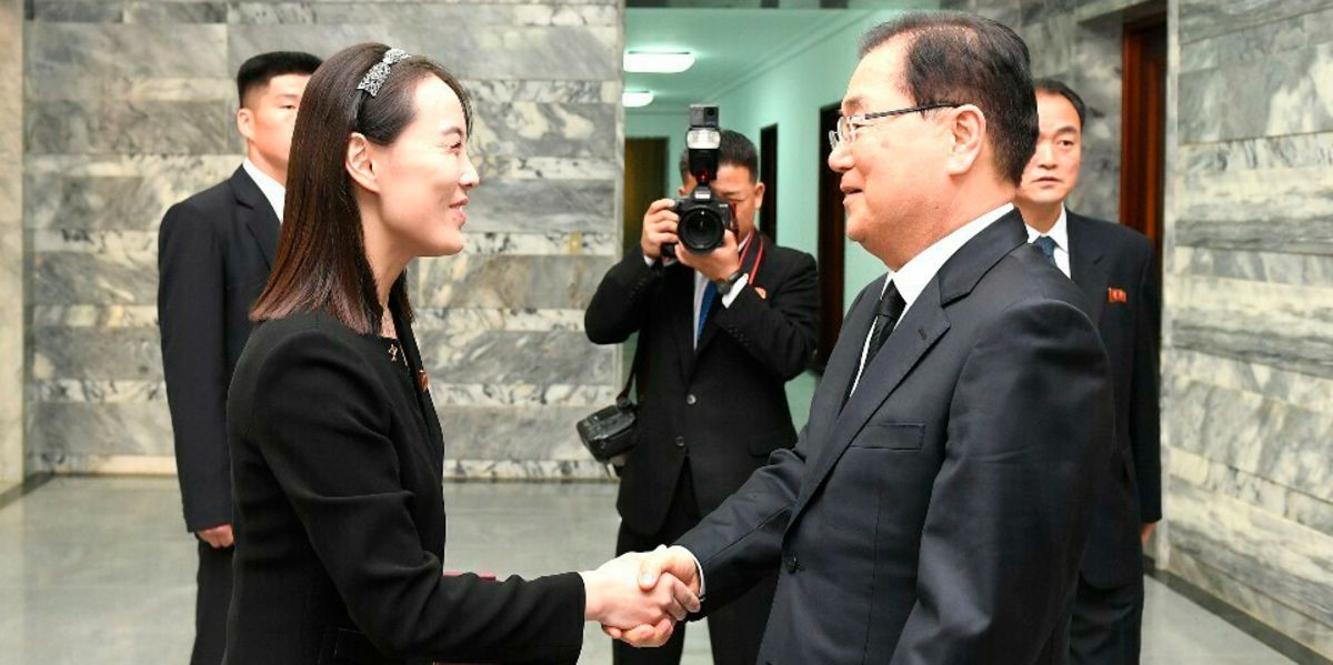 Kim Jong Un's Sister Pays Respects to South Korea's Late First Lady