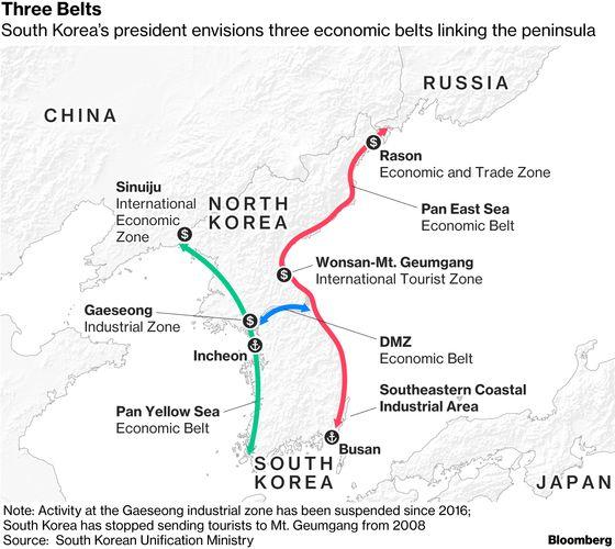 These Maps Show How to Unlock North Korea's Economy