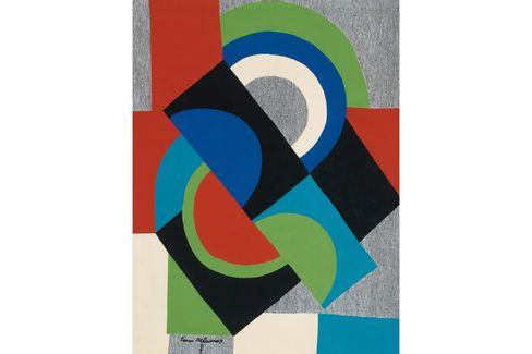 Contre-Point, by Sonia Delaunay.