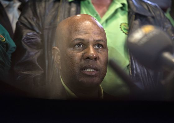 South Africa's AMCU Calls All Mines to Join Sibanye Strike