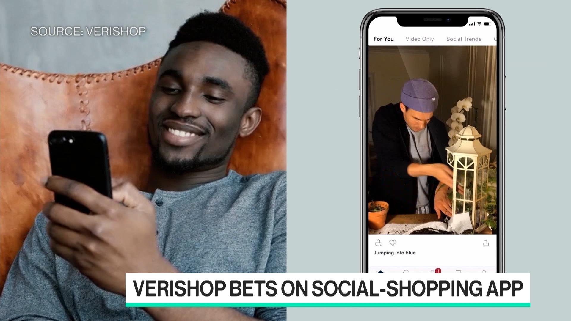 Verishop Bets on Social-Shopping App