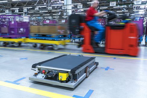 BMW's automated trolley