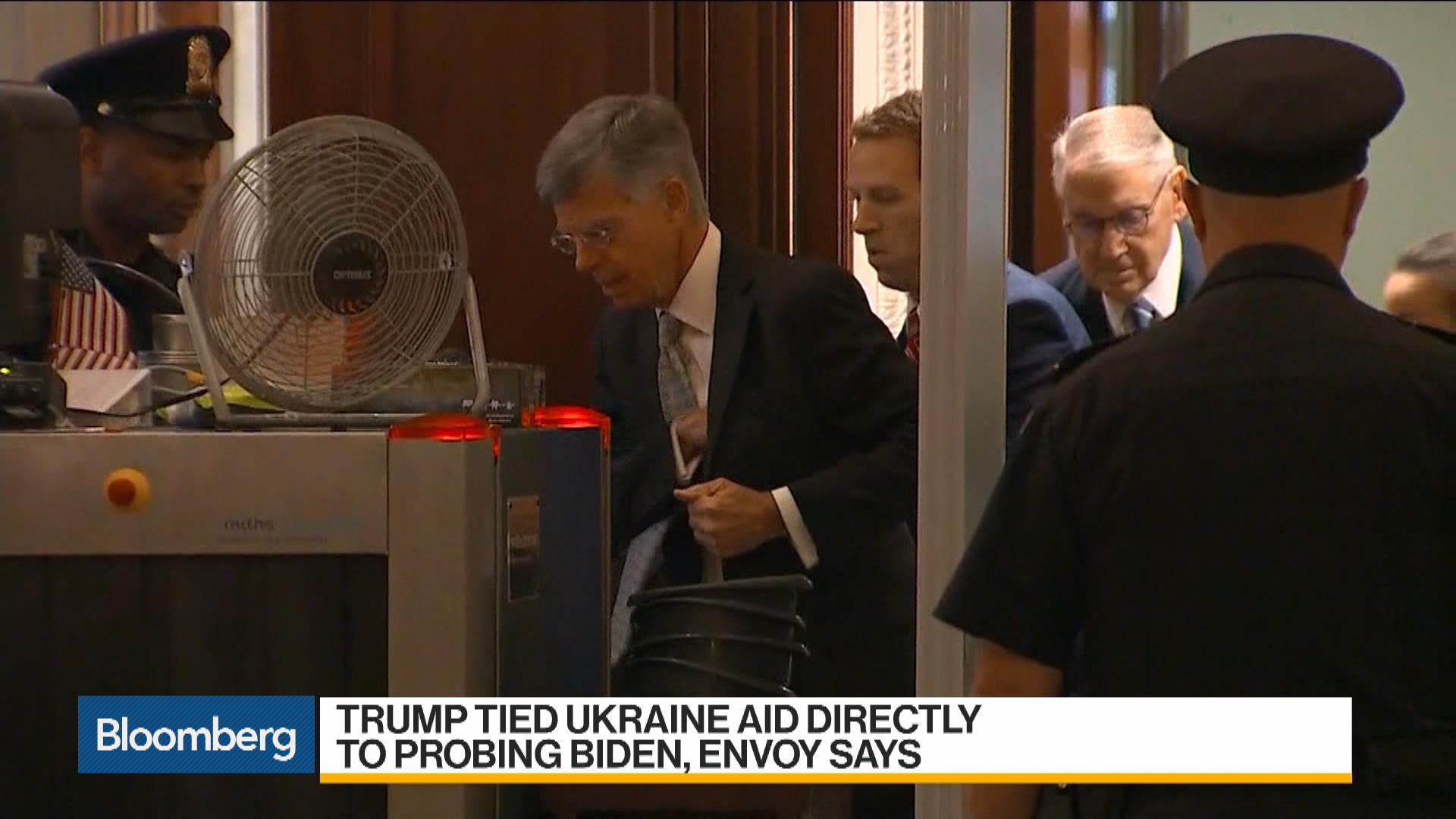 Envoy Says Trump Tied Ukraine Aid Directly to Probing Biden