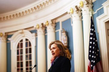 Hillary Clinton, then U.S. Secretary of State, commenting on the release of some 250,000 classified cables by Wikileaks at the State Department on November 29, 2010.