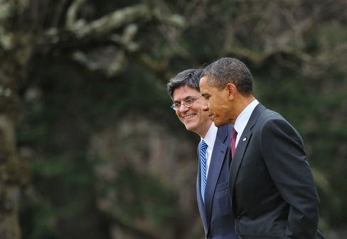 Obama Picking Lew for Treasury Fuels Budget Priorities Fight
