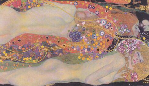 クリムト「水蛇Ⅱ」。購入額1億8380万ドルに対し売却額は1億7000万ドルで、8%の損失