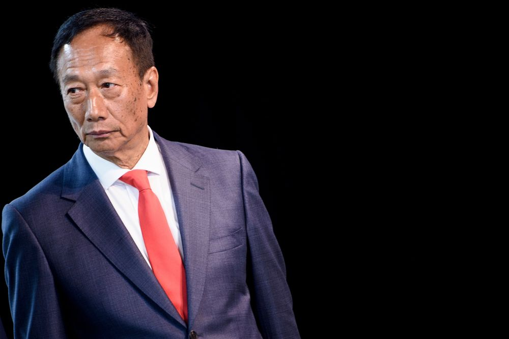 Foxconn's Gou Sees Brisk Business at Least Until January