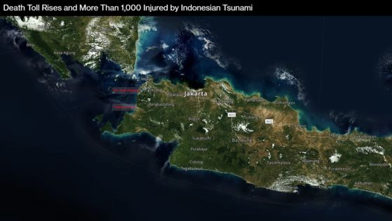 Indonesian Tsunami Death Toll Tops 400 With Thousands Displaced