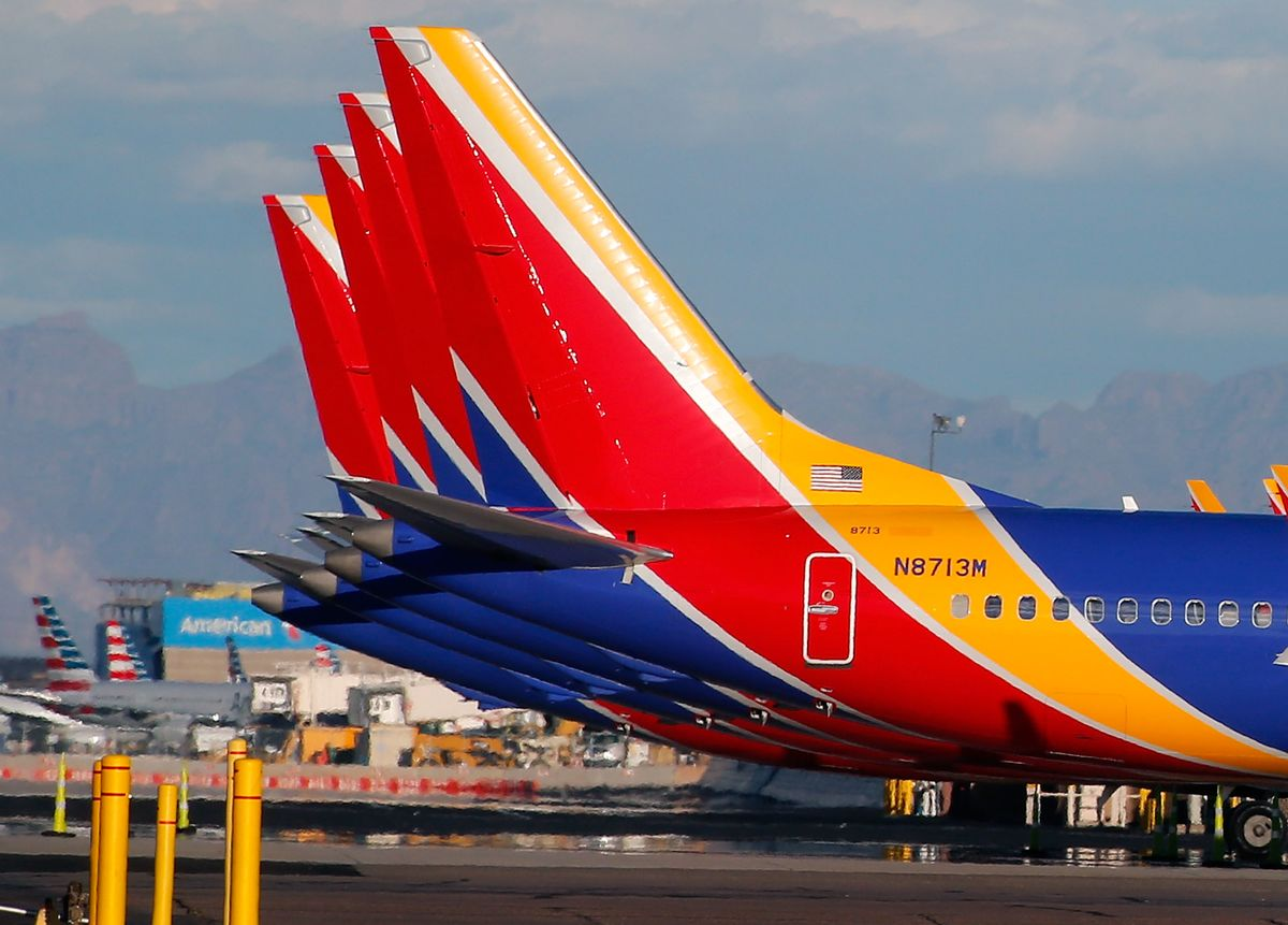 Southwest Air Extends Absence of Boeing Max to Early February