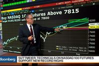 relates to Technicals Support New Highs for Nasdaq 100, BofA Merrill's Suttmeier Says