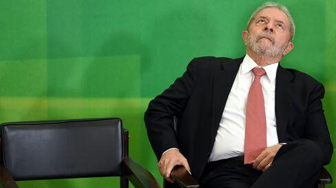 Luiz Inacio Lula da Silva on March 17.