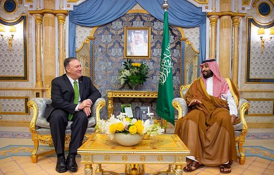 Trump Seeks New Iran Sanctions as Pompeo Consults Saudi Arabia