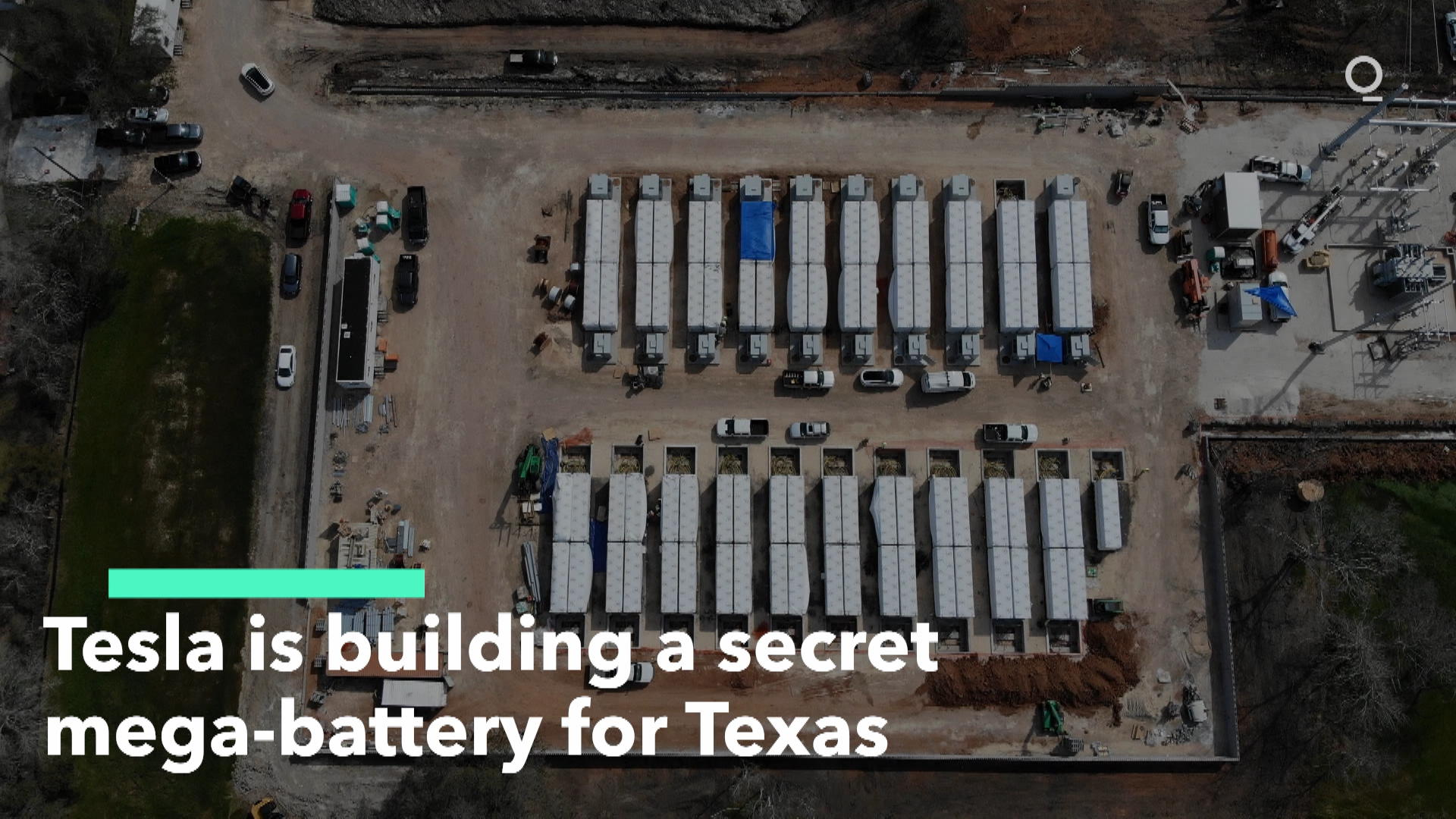 Tesla Builds Secret Mega-Battery - Bloomberg