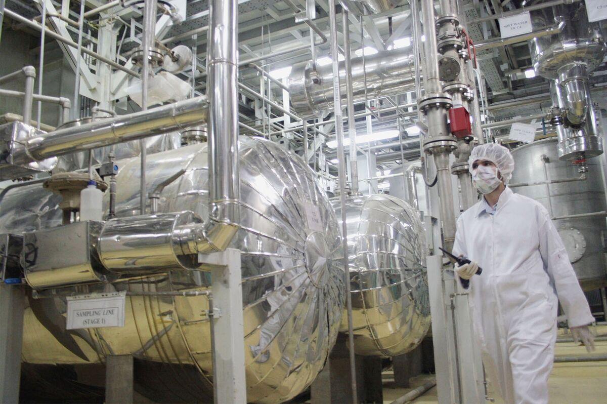 <p>EU Rebukes Iran Over Nuclear Inspections Ahead of Vienna Talks thumbnail