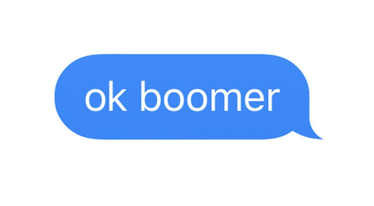 Image result for ok boomer