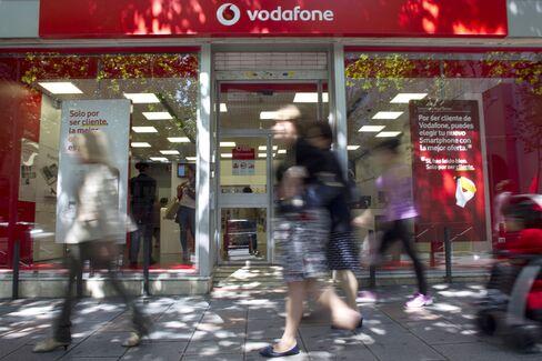 Vodafone Quarterly Service Sales Miss Estimates on Italy, Spain