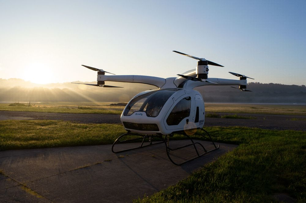 Flying Robotaxis Prepare for Takeoff - Bloomberg