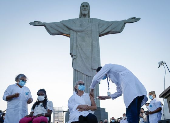 Brazil's Vaccination Drive Finally Begins But Risks Abound