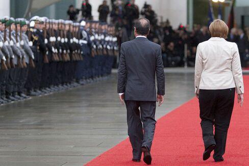 Hollande vs. Merkel: French Resistance Holds Firm After Seven Days