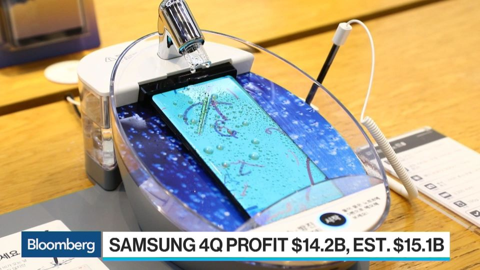 Samsung Posts Disappointing Fourth Quarter Results Bloomberg