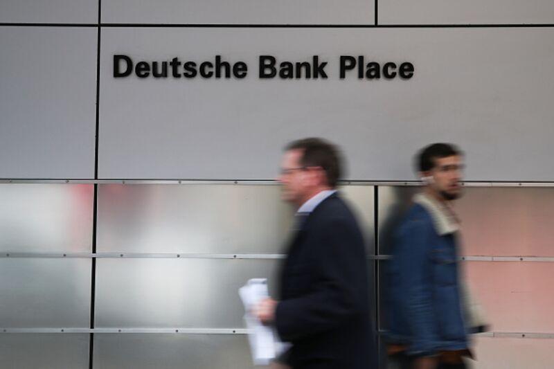 Deutsche Banks Future Is More Fannie Mae Than Lehman Bloomberg