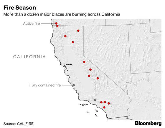 California Enters Peak Fire Season With Delaware-Sized Burn Scar