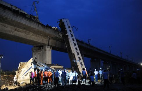 China Rail Ministry 'Kingdom' May Be Split Up on Fatal Crash