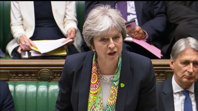 May: Parliament must not tie Government's hands in Brexit talks