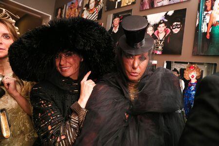 Demi Moore and Donna Karan | 4:54 AM