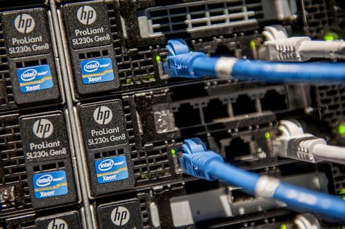 HP's Slumping Businesses Signal Long Journey for Turnaround