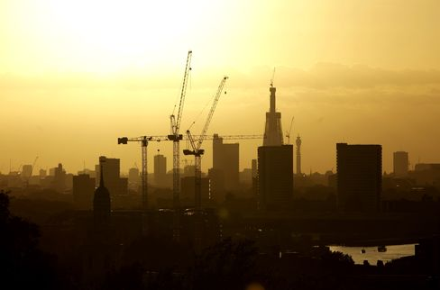 London Has $34 Billion of Luxury-Home Developments