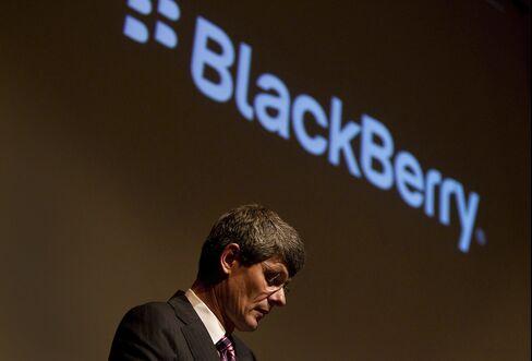 Outgoing BlackBerry CEO Thorsten Heins